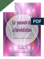 Pouvoir de La Benediction