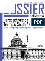 The Dossier by IndraStra - Perspectives on Trump's South Asia Policy