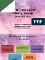 Isu dan Trenda dalam Psikologi Remaja