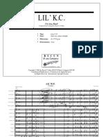 Lil K C (Swing) - Score Jazz Wind Band.pdf