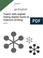 Using Digital Tools to Improve Writing