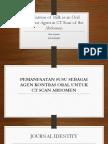 PPT Jurnal Utilization of Milk