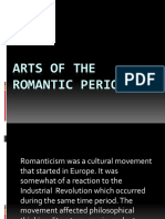Arts of the Romantic Period