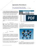 Informe IV Componentes Electronicos