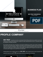 Business Plan Mr Prof