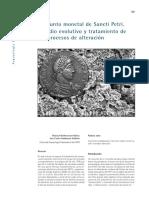 Conjunto monetal de Sancti Petri. Estudio evolutivo y tratamiento de los procesos de alteración