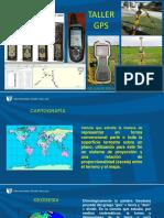 TALLER DE USO DE GPS