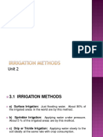 Irrigation Types