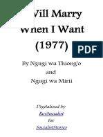I Will Marry When I Want - Ngugi wa Thiong'o.pdf