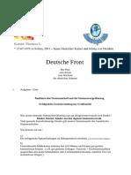 Deutsche Front Plan