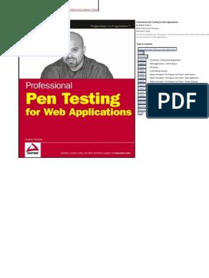 Web Application Pro Pentesting Internet Forum