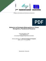 Mediación de Estrategias Metacognitivas