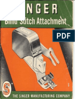 Singer Blindstitch Attachment Manual