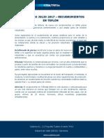 Diccionario Julio 2017 - Recubrimientos en Teflón
