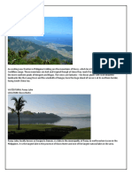 Unknown Landforms and Waterforms in the Philippines
