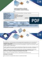 Guía de Actividades y Rúbrica de Evaluación - Fase 0 - Reconocer Los Elementos, Entornos t Demás Aspectos Relevantes Del Curso.