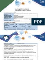 Guía de Actividades y Rúbrica de Evaluación - Fase 0 - Reconocer los elementos, entornos t demás aspectos relevantes del curso..docx