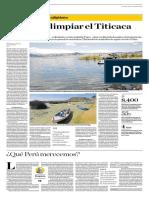 El Reto de Limpiar El Titicaca