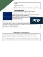 RAVLT Datos Normativos Niños y Adolescentes- Factores-2010 - 8 a 17 Años