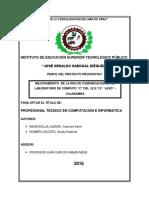 Perfil de Proyecto Cominfo Final