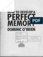 How to Develop a Perfect Memory - Dominic OBrien