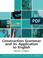 Construction Grammar and Its Application to English - Facebook Com LinguaLIB