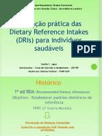 Aplicacao Pratica Das DRIs