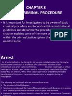 Chapter 8 Basic Criminal Procedure.pptx