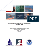 Dwh Dispersants Use Meeting Report