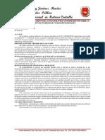 Informe de Preparacion de Información Financiera de P.N No Comerciante