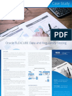 Oracle FLEXCUBE Data and Regulatory Testing