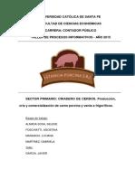 Estancia Porcina s r l 2015