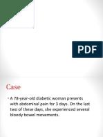 78 y/o Diabetic case patient