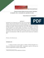 MAGALHÃES, Suzana. Programa de Modernização de Ensino Do EB PME