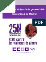 Informe Ccoo Sm Violencia Genero Cm 2016