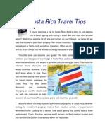 Costarica Travel Tips