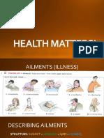 Class 6 (Unit 3) 2017-2 Health Matters
