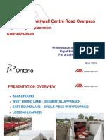 20160421 2 Ontario Rapid Installation of Concrete Rigid Frame Bridges