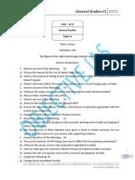 General Studies Paper-II