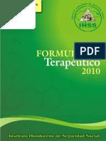 Manual de Terapeutica Honduras