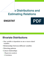 2. Bivariate Distributions and Estimating Relations (1)