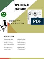 Occuopational Ergonomic Kelompok 6