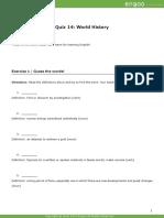 Advanced Quiz 14 ID