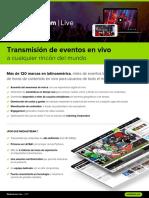 Brochure Live Mediastream