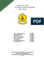 Laporan Pagi - Siang PKM Buduran - Copy