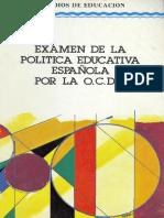 Evaluación de La Reforma Española