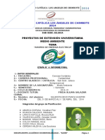 Informe Final de La Universidad Catolica