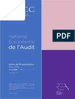 Réforme Europ de l'Audit