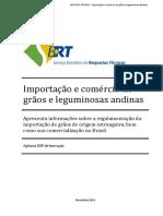 Importação e Comércio de Grãos e Leguminosas Andinas
