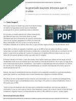 Renta inmobiliaria ha generado mayores retornos que el IPSA en últimos doce años - Diario Financiero